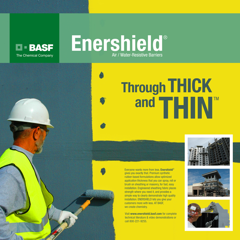 Ad - Enershield - Through Thick and Thin - George Arco